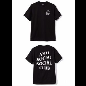 NWT Authentic Anti Social Social Club T-Shirt